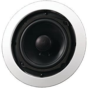 "AudioSource AC5C 5"" In-Ceiling Speakers (Pair, White) (Discontinued by Manufacturer)"