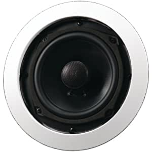 """AudioSource AC5C 5"""" In-Ceiling Speakers (Pair, White) (Discontinued by Manufacturer)"""