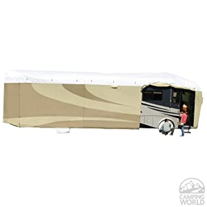 ADCO 32826 Designer Series Tan/White Tyvek Class-A RV Cover