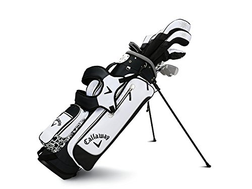 Callaway Women's 2016 Solaire Sport Complete Golf Set with Bag (13-Piece, Right Hand, Black)