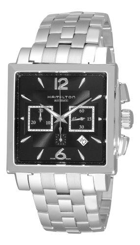 Hamilton  H32666135 - Reloj de automático para hombre, con correa de acero inoxidable, color plateado