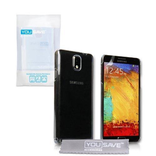 Custodia Samsung Galaxy Note 3 Cover Duro Rigida Ibrido Nero