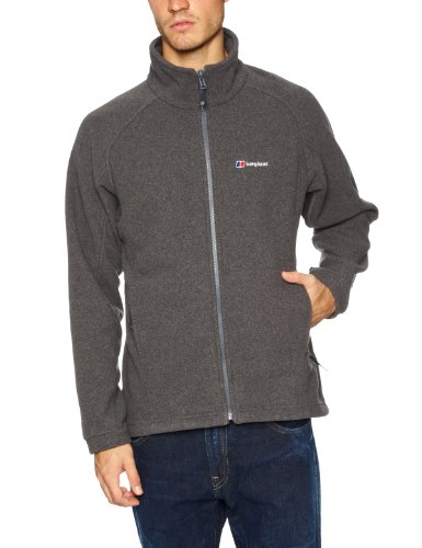 Berghaus Spectrum Men's Interactive Zip Fleece - Grey, Small