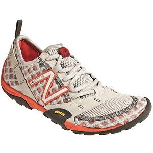 New Balance WT10GR Grey/Orange Ladies 6.5 B