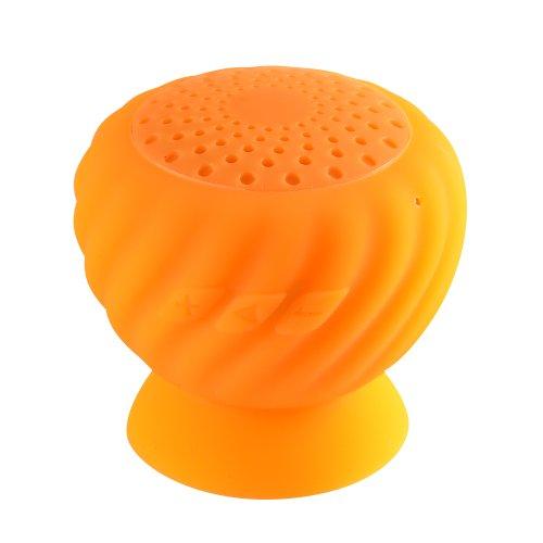 Kinglake New Pineapple Mini Bluetooth Speaker Wireless Hands Free Waterproof With Silicone Suction (Orange)