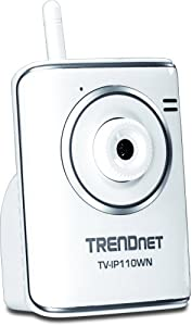 TRENDnet Wireless Internet Surveillance Camera, TV-IP110WN