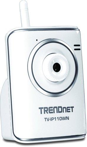 TRENDnet TV-IP110WN SecurView Wireless Internet Surveillance Camera