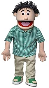 Kenny Peach Professional Puppets Kids Toys with Removable Legs, 30 x 12 x 10 (in.)