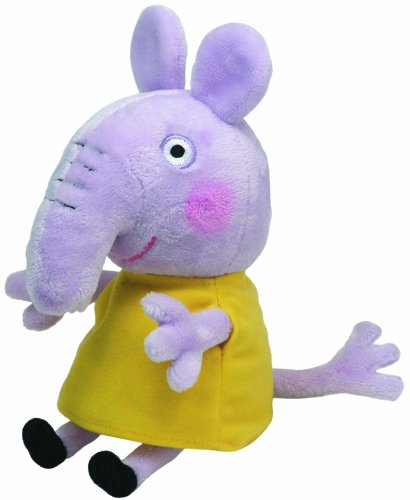 ty-46173-peppa-baby-beanie-babies-emily-elephant-peluche-15-cm