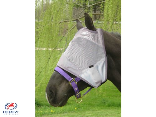 derby-originals-horse-fly-masks-without-ears-overstock-grey-large-full