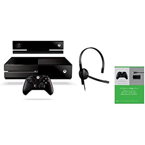 Xbox One Xbox One + Kinect (통상판) (7UV-00103) [메이커 생산 종료]- (2014-09-04)