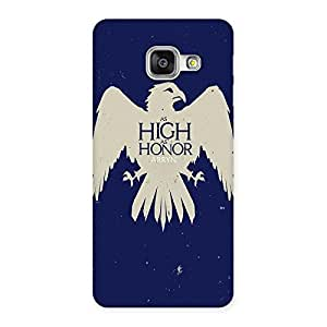 Ajay Enterprises High honor Back Case Cover for Galaxy A3 2016