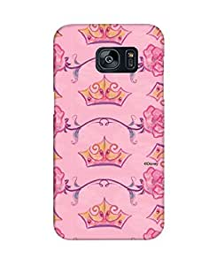 Pick Pattern with Exclusive DISNEY Characters Back Cover for Samsung Galaxy S7 Edge