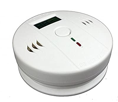 Generic Independent Battery-operated Alert Smoke Carbon Monoxide Gas Sensor CO Detector Alarm with LCD from SATCUS