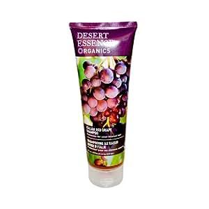 DESERT ESSENCE Organics Italian Red Grape Shampoo 8 OZ