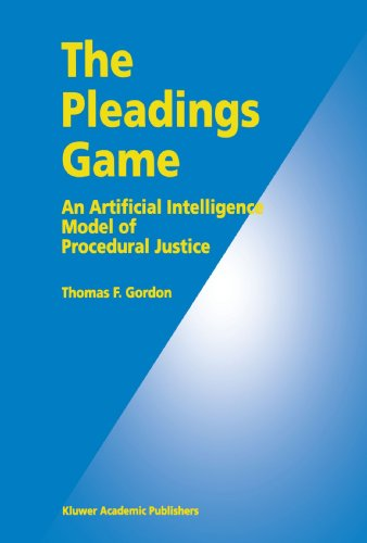 The Pleadings Game: An Artificial Intelligence Model of Procedural Justice PDF