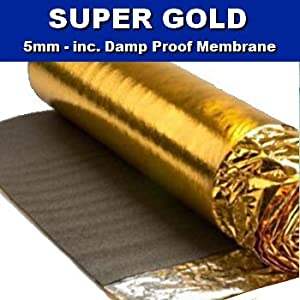 Super gold comfort 5mm laminate wood floor underlay with for Wood floor underlay 5mm