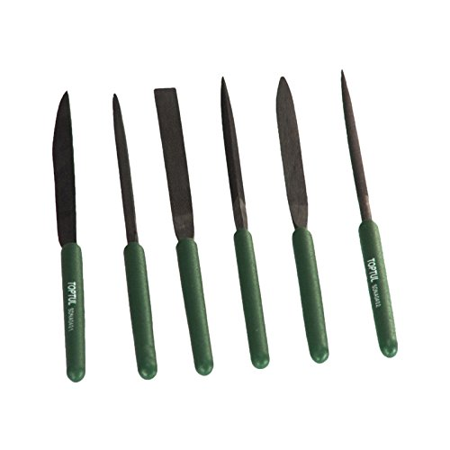 Toptul GNBA0501 Diamond Needle File Set (5Pcs)