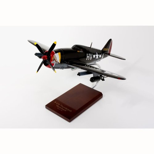 Republic P-47B Thunderbolt Razorback Handcrafted Quality Desktop Airplane Wood Model Display