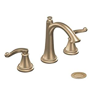 Showhouse by moen ts498 savvy widespread faucet touch on kitchen sink faucets Amazon bathroom faucets moen