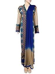 Pious Women Radha Krishna Georgette Unstitched Suit