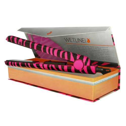Irons Wetline Pro New Hair Straightener Pink Zebra
