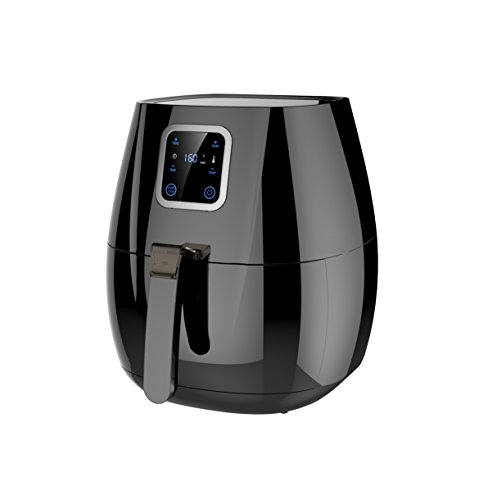 Buy Concord PBT Digital Touch Screen Air Fryer, 2.8 Litre, Black Online at Low Prices in India - Amazon.in