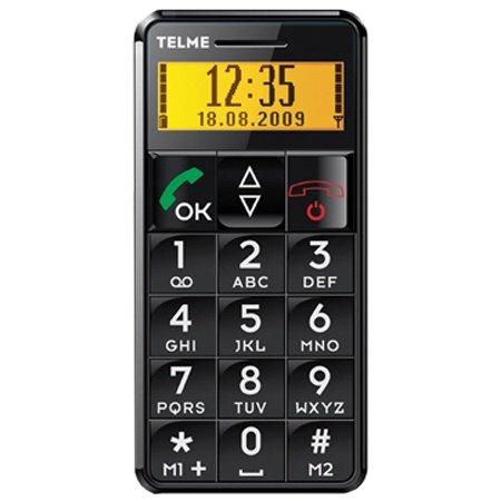 TELME C96 Seniorenhandy schwarz, Vodafone ohne Simlock, kein Vertrag