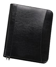 Bellino Leather Zip-Around Padfolio