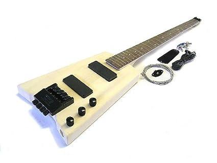 Headless Guitar Kit Headless Bass Guitar Diy Kit