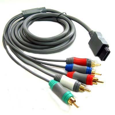 Nintendo Wii Component HDTV AV High Definition AV Cable