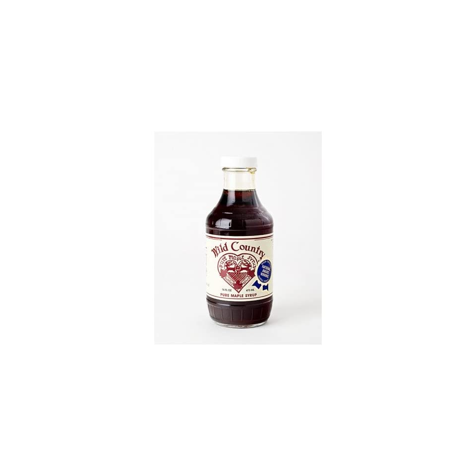 4a12bac96cc Wild Country Pure Maple Syrup Grade A Dark Amber 16oz on PopScreen