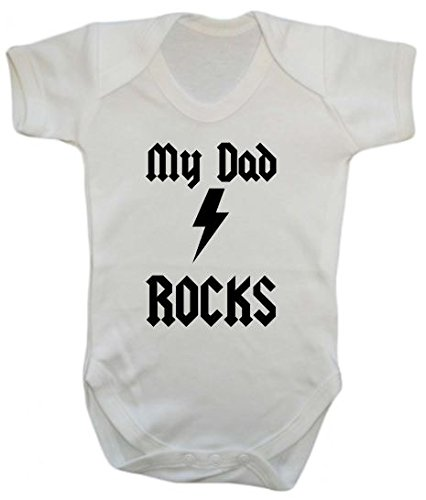 My Dad Rocks-tuta intero per neonati