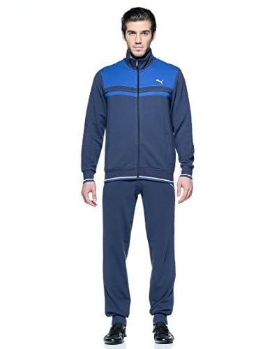Puma Tuta Sport Fun Sweat Cb Suit Cl [Blu Navy/Blu]