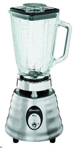 Imagen de Oster 4093-008 5-Cup Glass Jar 2-Velocidad Beehive Blender, en acero inoxidable cepillado