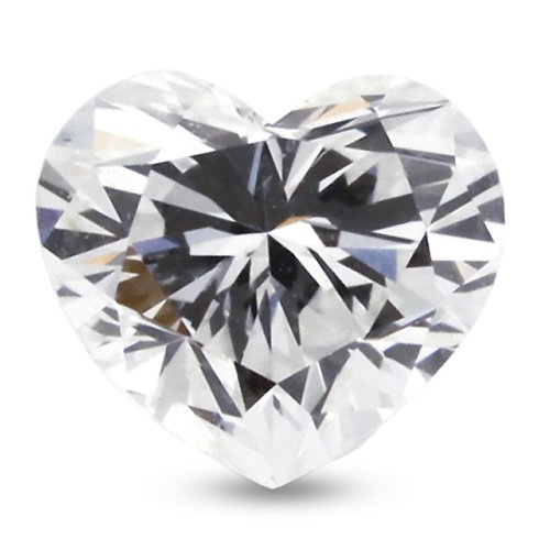 5.73 Carat Excellent Cut Natural Heart E-VS1 GIA Certified Loose Diamond