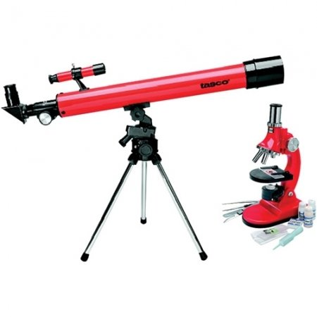 TASCO 49TN Refractor Telescope & Microscope