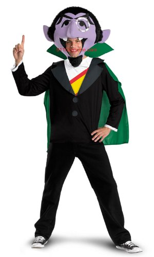 The Count Adult Sesame Street Costume 50630