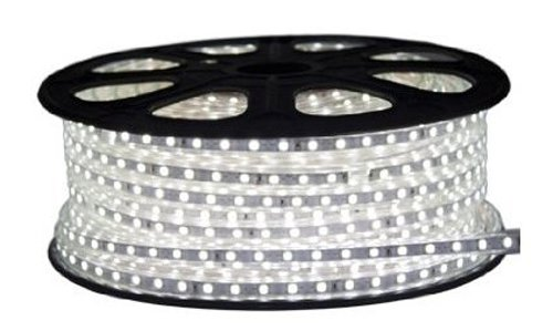 Cbconcept 120Vsmd5050-5M-Cw 120 -Volt High Power Smd5050 Flexible Flat Led Strip Rope Light, 16-Feet Spool, Cool White