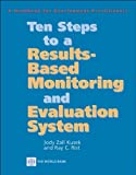 img - for Ten Steps to a Results-Based Monitoring and (text only) by J.Z.Kusek.R.C.Rist book / textbook / text book