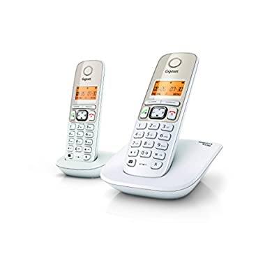 Gigaset A530 DUO Cordless Landline Phone white