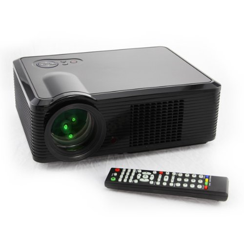 LED Home Theater Video Projector 1080P HDMI SD HD TV PS3 DVD WII 800x600