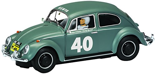 Scalextric Volkswagen Beetle Gray #40  1:32nd Scale Slot Car