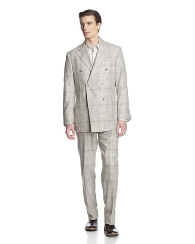 Hickey Freeman Men's Double-Breasted Suit