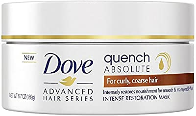 Dove Advanced Hair Series Intense Restoration Mask, Quench Absolute 6.70 oz