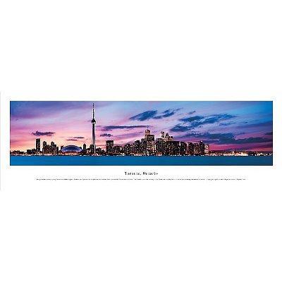 Toronto, Ontario - Panoramic Print - Poster