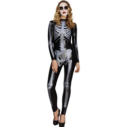Women's Skeleton Costume Catsuit