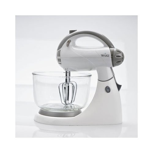 Rival Stand Mixer (12 speed, White) by Rival (Rival Stand Mixer Bowl compare prices)