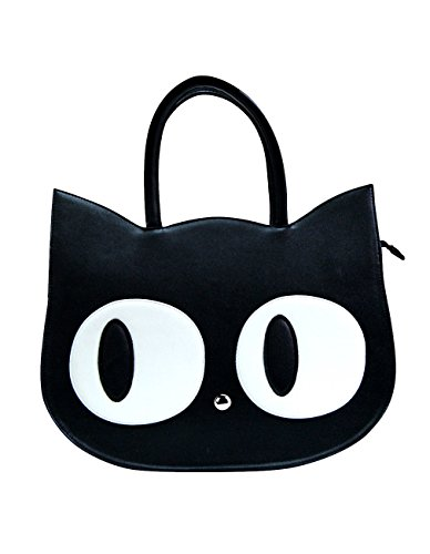 Banned Borsa a tracolla da donna gatto nero - Heart of Gold Shopper