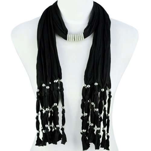 Woman's Ladies Fashion Polyester Black Jewellery